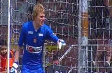 André Krul en el partido con Envigado (2013)